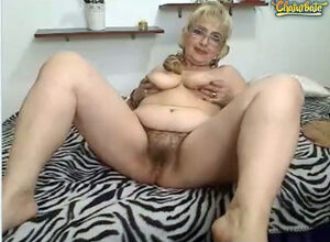 Mature hairy blonde pussy