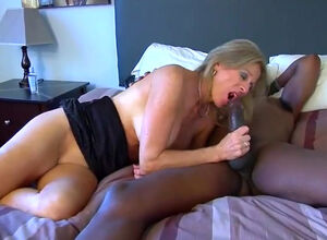 Amature black creampie